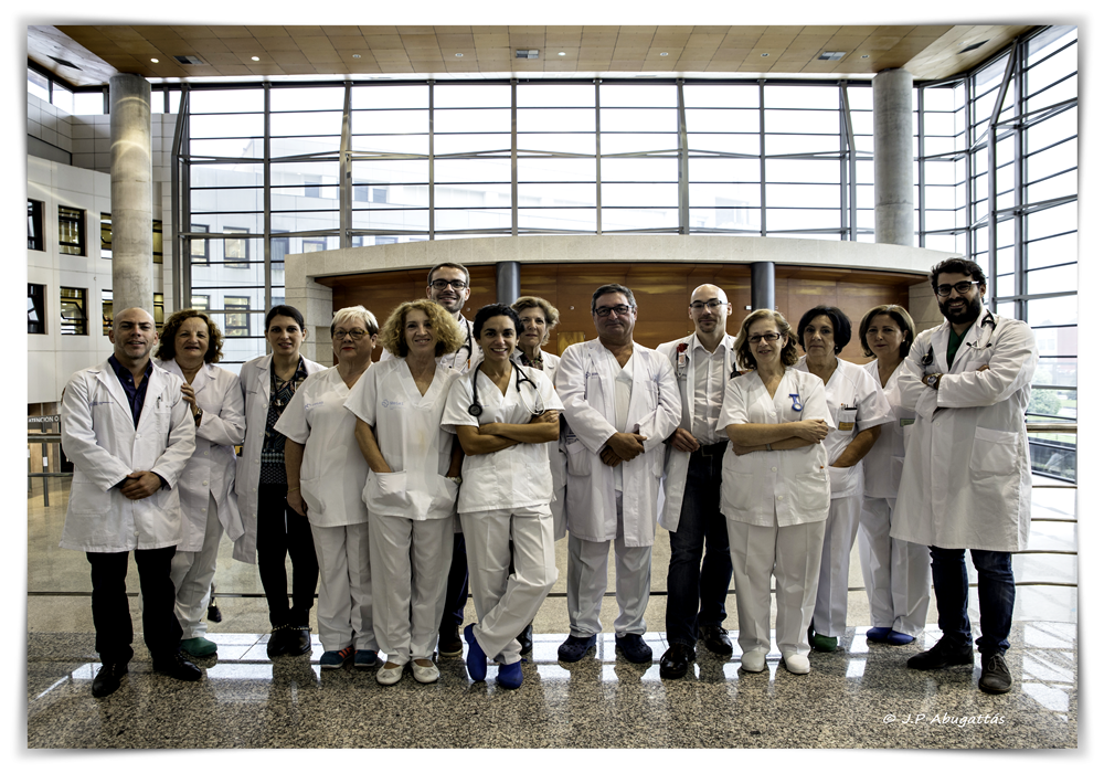 Equipo de Cardiología del Hospital Universitario de Ferrol